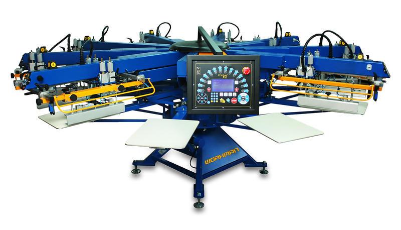 Printex India Screen Printing Machine Textile Printing